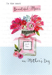 Mother's Day Card Most Beautiful Mum