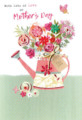 Mother's Day Card With Lots Of Love