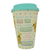 Boofle You Are Special Bamboo Travel Mug With Silicone Lid & Band