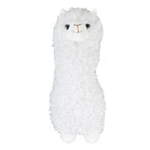Fluffy White Llama Plush Toy Gift Idea Super Soft 28cm Tall