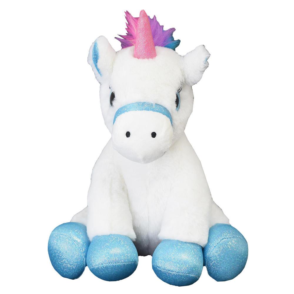 White Unicorn Plush Toy