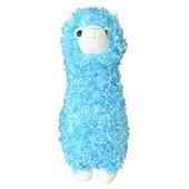 Fluffy Blue Llama Plush Toy