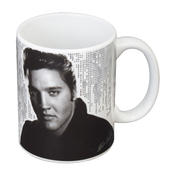 Elvis The King Of Rock & Roll Ceramic Mug