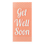 Get Well Soon Chocolate Bar & Card In One