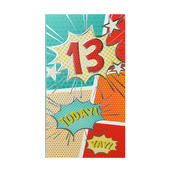 13 Today Birthday Celebrate In Style Chocolate Bar & Card In One