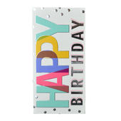 Happy Birthday Chocolate Bar & Card In One