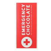 Emergency Chocolate Bar & Card In One