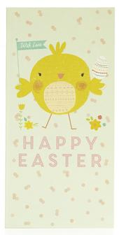 Pack of 4 Charity Easter Money Wallet Cards