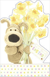 Boofle Easter Greeting Card Just For You At Easter