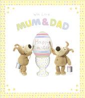 Boofle Mum & Dad Easter Greeting Card