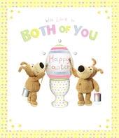 Boofle Easter Greeting Card To Both Of You