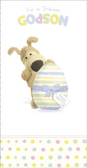 Boofle Brilliant Godson Easter Greeting Card