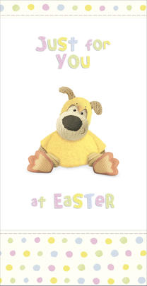 Boofle Easter Money Wallet Gift Card