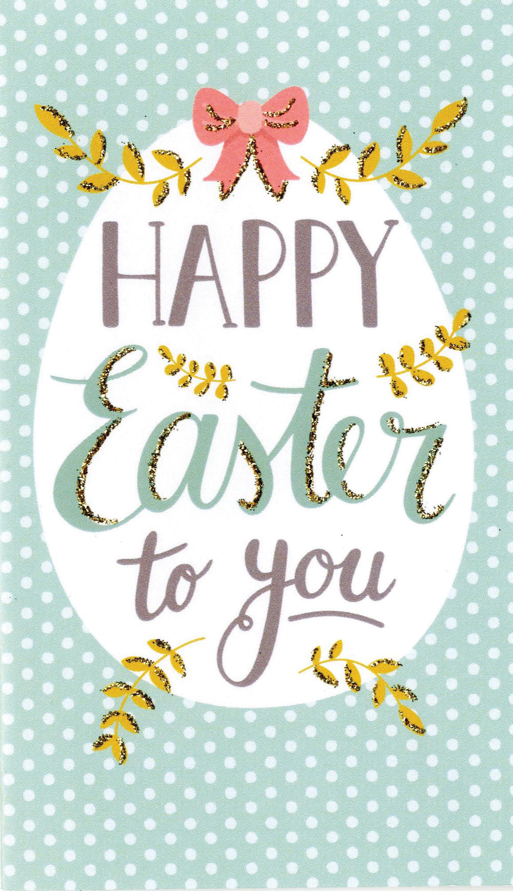 Happy Easter To You Money Wallet Card