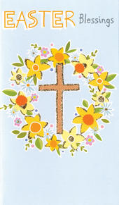Easter Blessings Money Wallet Card