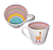 Llama Queen Inside Out Mug In Gift Box