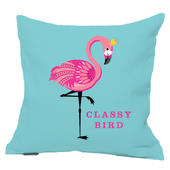 Classy Bird Flamingo Reversible Cushion
