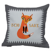 For Fox Sake Reversible Cushion