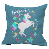 Believe In Unicorns Reversible Cushion