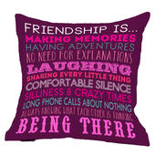 Friendship Is...Reversible Cushion