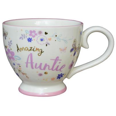 Amazing Auntie Jumbo Teacup Gift