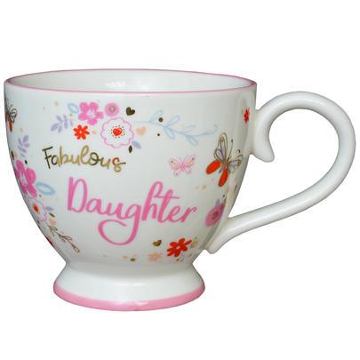 Fabulous Daughter Jumbo Teacup Gift