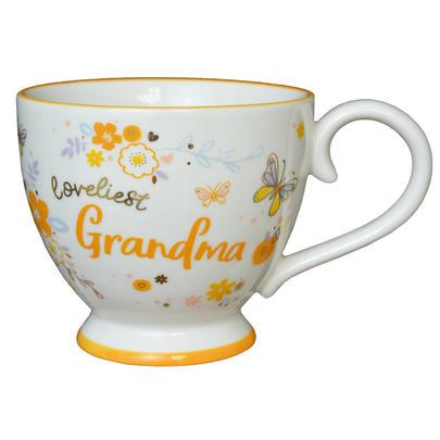 Loveliest Grandma Jumbo Teacup Gift