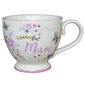 Wonderful Mum Jumbo Teacup Gift
