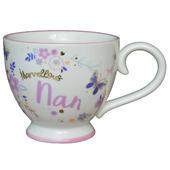 Marvellous Nan Jumbo Teacup Gift