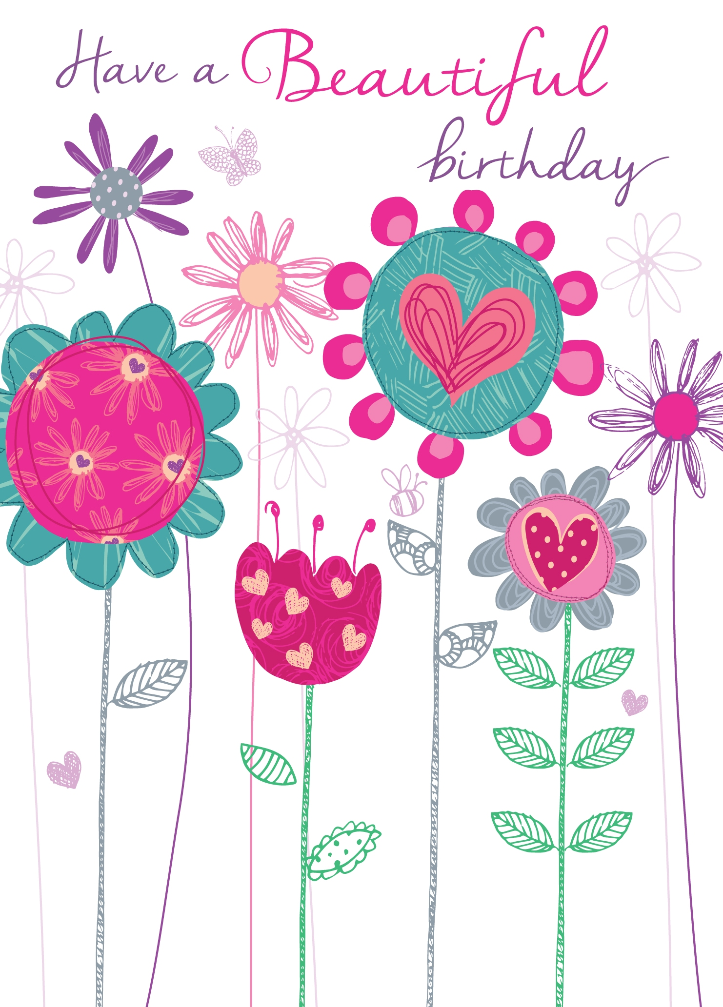 beautiful birthday greeting card  cards