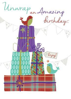 Amazing Birthday Greeting Card