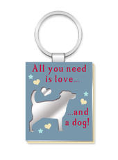 All You Need Is A Dog More Than Words Mirror Keyring