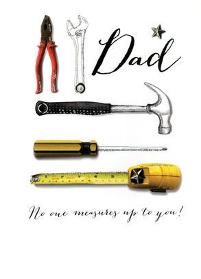 Dad No One Measures Up To You Joie De Vivre Father's Day Card