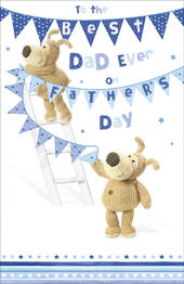 Boofle Father's Day Card To The Best Dad Ever
