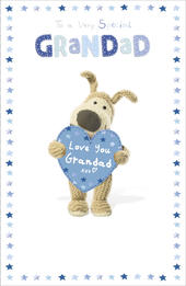 Boofle Father's Day Card Very Special Grandad