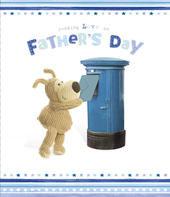 Boofle Father's Day Card Sending Love On Fathers Day
