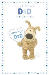 Boofle Father's Day Card For A Brilliant Dad
