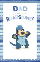 Boofle Father's Day Card Dad You're Roarsome