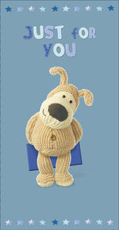 Boofle Father's Day Card Just For You