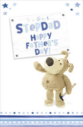 Boofle Father's Day Card To A Great Stepdad