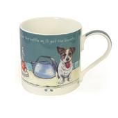 Put The Kettle On Little Dog Laughed Mug In Gift Box
