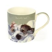 Scruffy Love Jack Russell Little Dog Laughed Mug In Gift Box