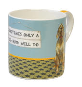 Only A Dog Hug Will Do Little Dog Laughed Mug In Gift Box