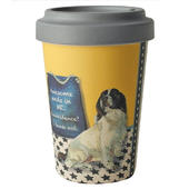 Springer Spaniel Little Dog Laughed Bamboo Travel Cup