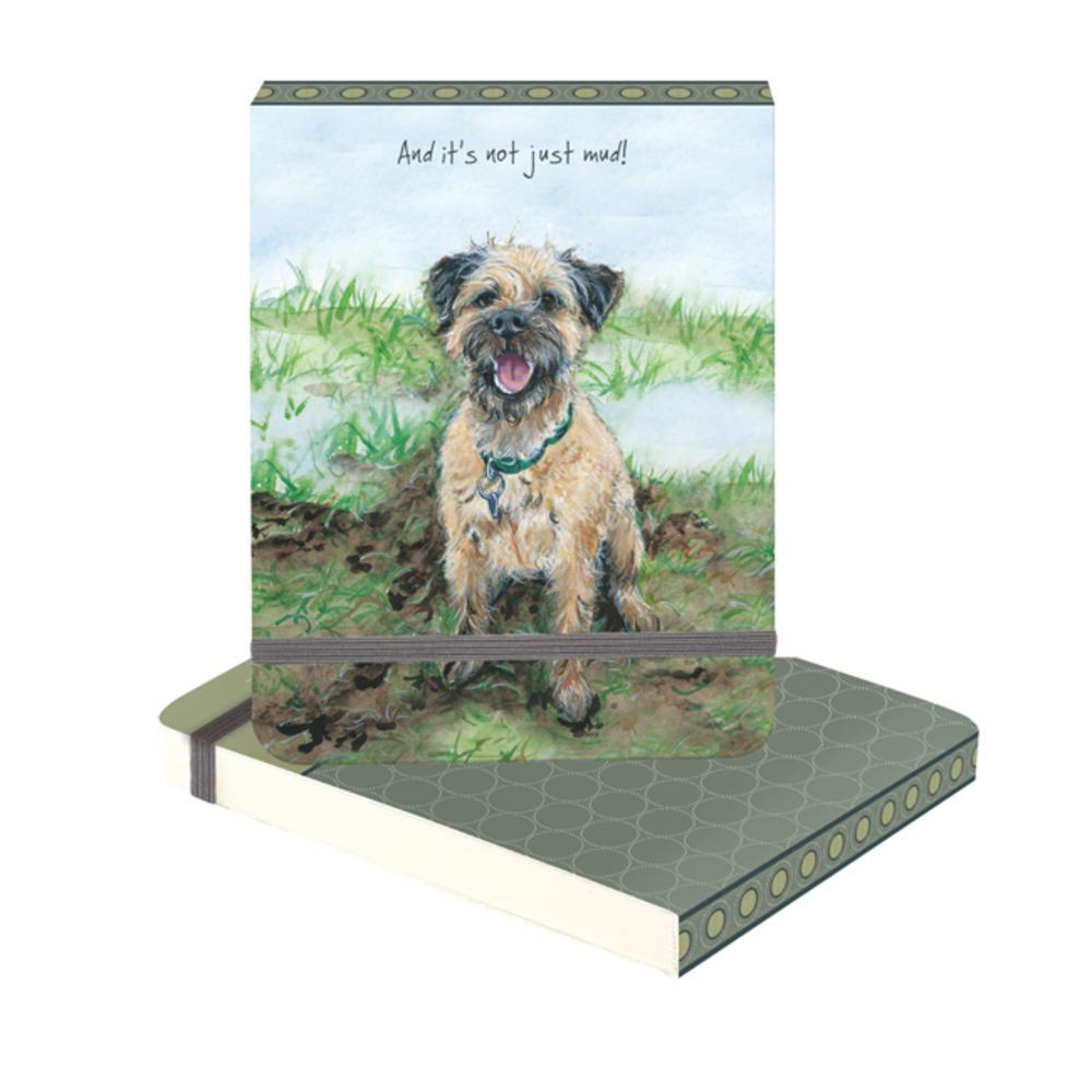 Brand New Dog Keyring Border Terrier Gift Present Animal Lover