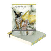 Grab Us A Cold Beer Could You Border Terrier Little Dog Laughed Notebook