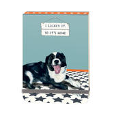 I Licked It So It's Mine Little Dog Laughed Notebook