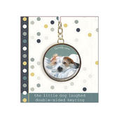 Scruffy Love Little Dog Laughed Keyring