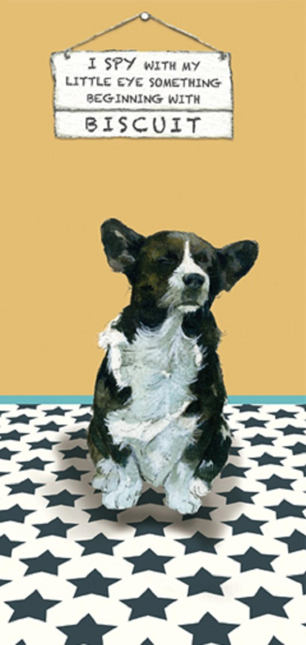 I Spy Biscuit Little Dog Laughed Greeting Card