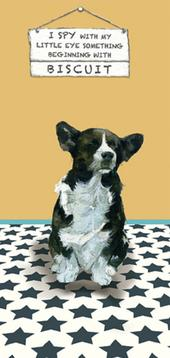 I Spy Biscuit Little Dog Laughed Greeting Card